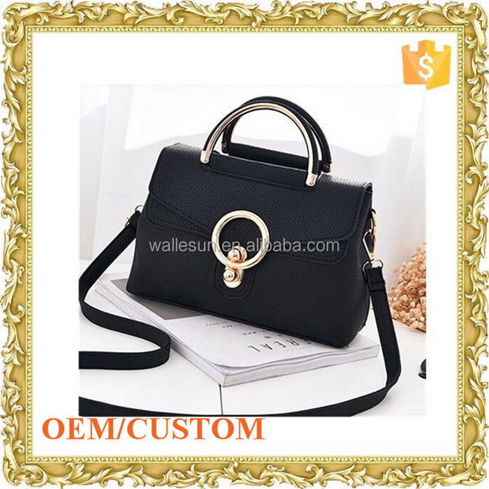 Custom lady handbag women shoulder bag leather jewelry bag