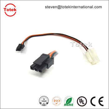 4pin Molex 43645 / 43030 to 3pin 3901 / 3900 connector Custom wire harness