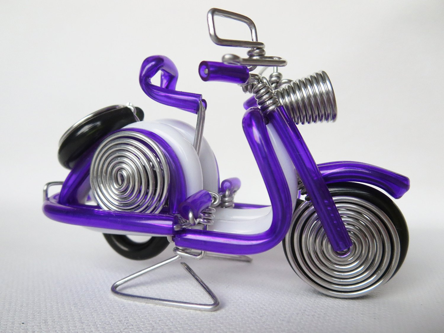 Buy Purple Vespa Scooter Motorcycle Model Handmade Vespa Wire