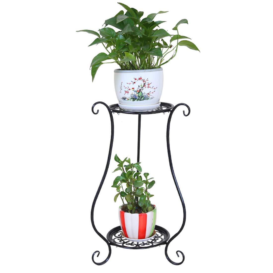 75bf8e8d7e1e Get Quotations · HMANE Plant Pot Stand Multi-Layer Rack Metal Art Rack  Holder Flowerpot Display Shelf for