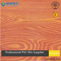 Chivalry oak wood grain PVC film Vacuuam press for door and cabinet