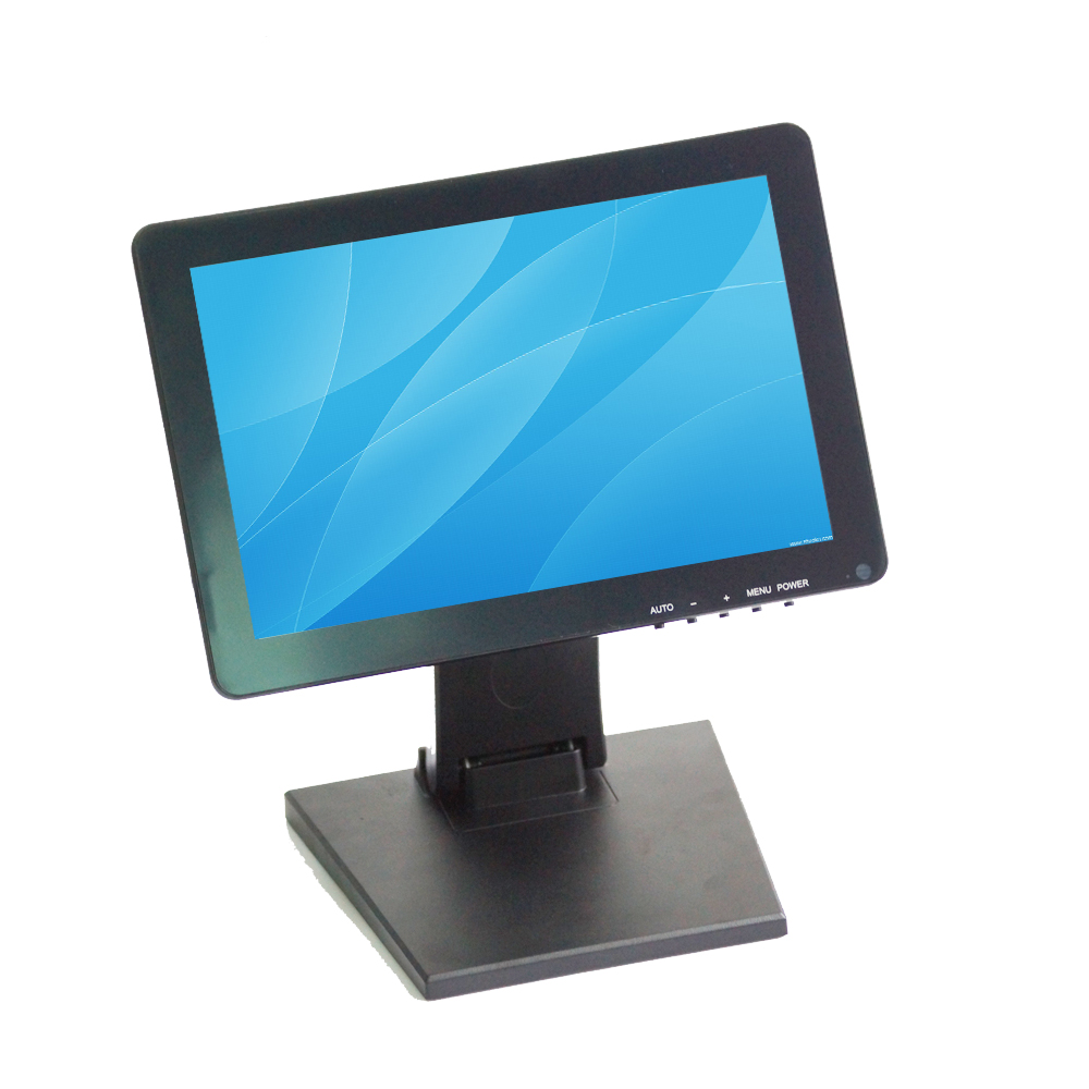 12 Inch LCD 5 Wire Resistive Touch Screen Monitor