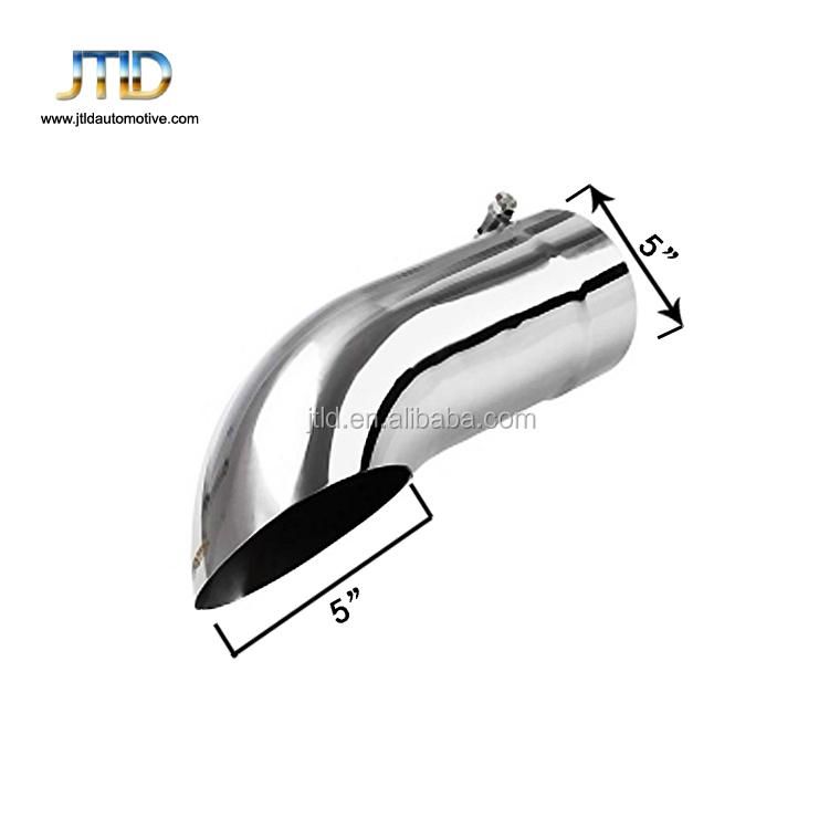 diesel exhaust tip turn down 5 inch inlet 5 outlet diameter 16 long stainless steel 304 bolt on exhaust tailpipe tips buy exhaust tip diesel
