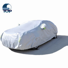 Alibaba Customed folding sun protection 4-sides stretch fleece lining indoor auto shelterbody kit car covers