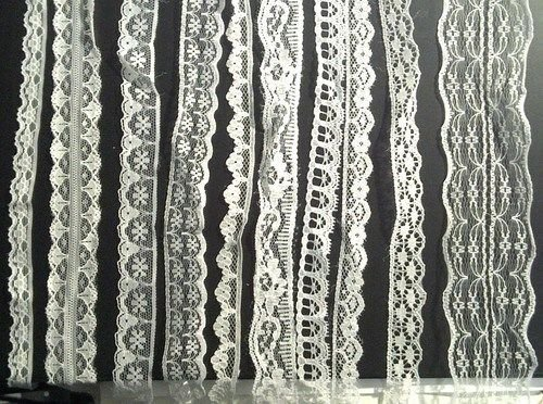 CraftbuddyUS 20m of Asstd White Vintage Lace Bridal Wedding Trim Ribbon, Craft, Card Making