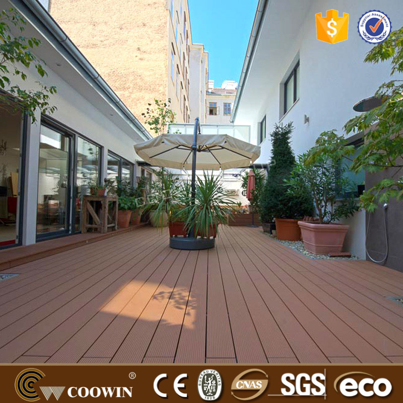 Esterno wpc decking composito lowes outdoor deck for Piastrelle wpc
