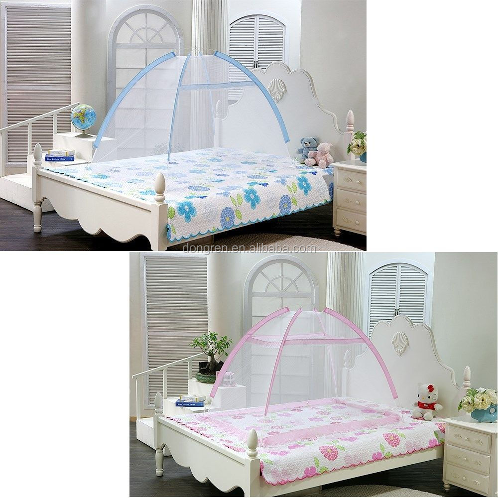 - Portable Foldable Baby Kids Toddler Bed Canopy Mosquito Net Tent