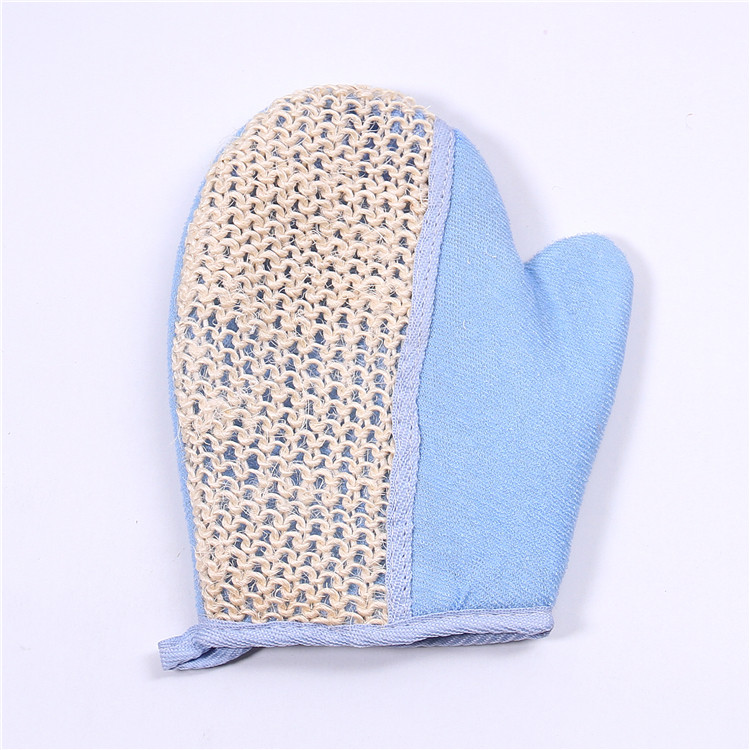 Promotion Natural exfoliating bath shower loofah mitt cleaning natural sissal bath glove