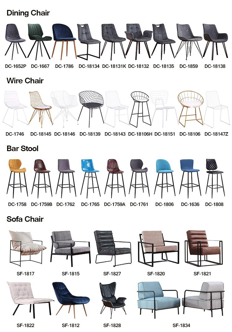 Vuelos baratos de China de metal mesa de restaurante de sillas para la venta