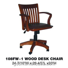 Promotion executive chair office chair wheel base,luxury wooden executive office chair