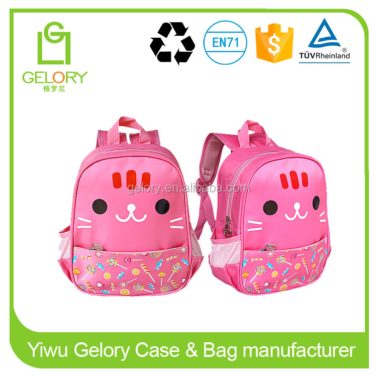 Backpack Type and 600D Polyester Material cartoon Kids Cheap School Bags