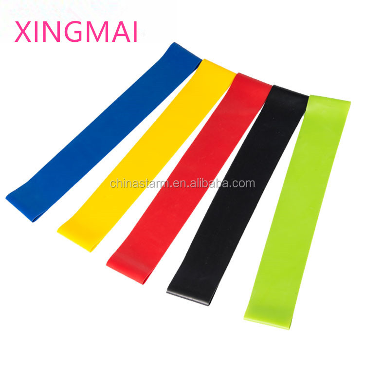 Gym Apparatuur Stretch Handvat Oefening Latex Loop Bands set