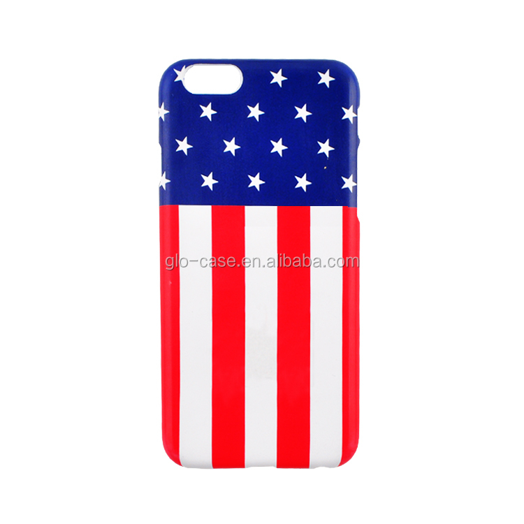 Custom National Flag Phone Case Water Transfer Printing Mobile Cover for iPhone 6