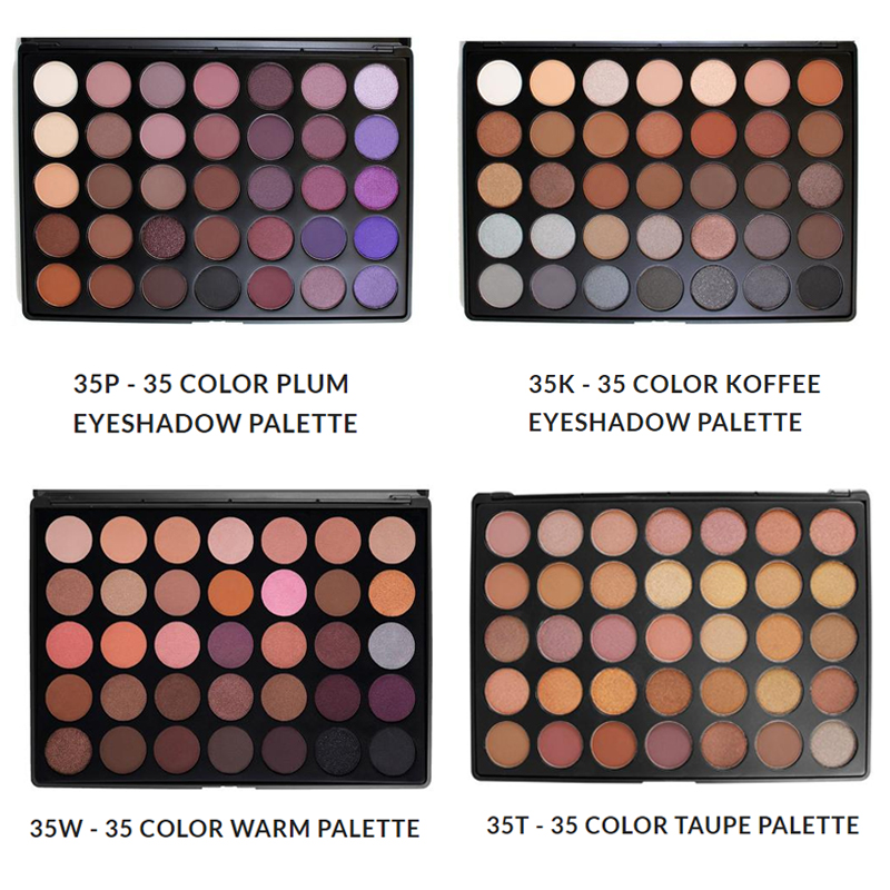 Newest 350 Palette 35 Color Eyeshadow Palette Earth Warm Color Shimmer Matte Eye Shadow Cosmetic