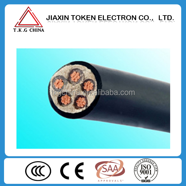 VV/VLV/ZRVV/ZRVLV 0.6/1kV low voltage Copper/aluminum Conductor three core 16/25/35/50/75 sq mm Power Cable