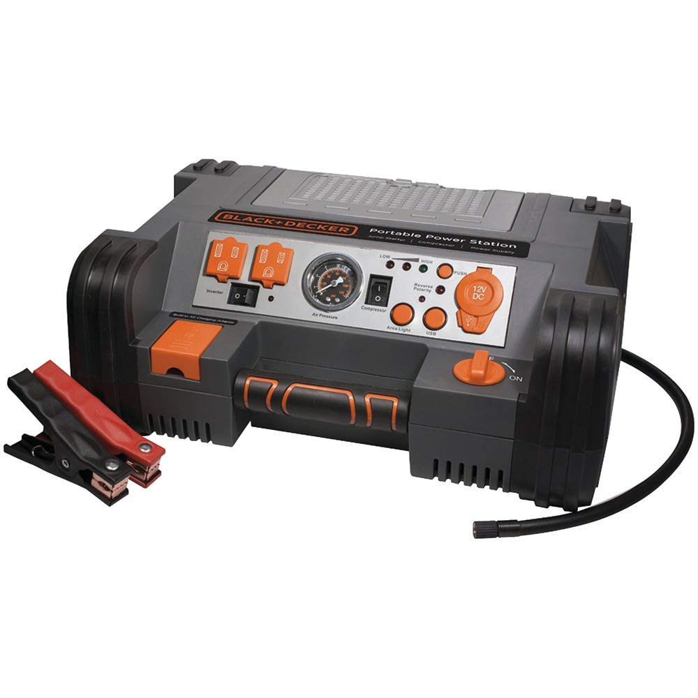 Black & Decker Pprh5B Professional Power Station With Air Compressor