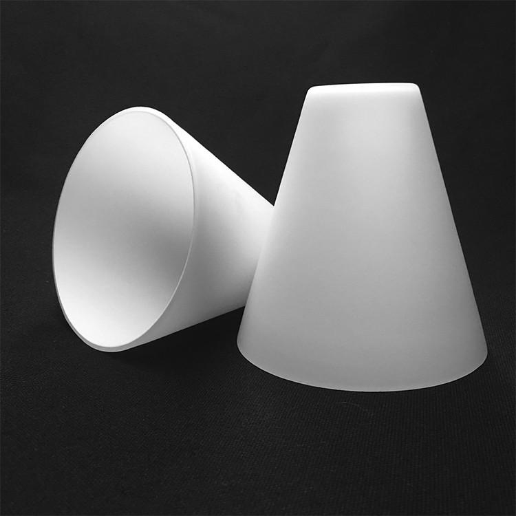 Custom Best Quality Frosted Cone Shaped Glass Lamp Shade - Buy ...