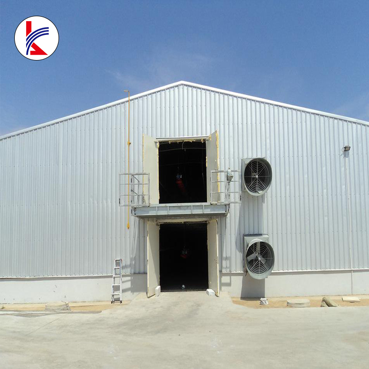 Professional Design Prefabricated Broiler Poultry Farm House For Steel Structure