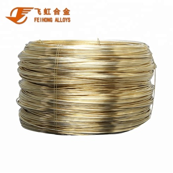 high quality copper wire C28000 Brass wire copper flat wire H62