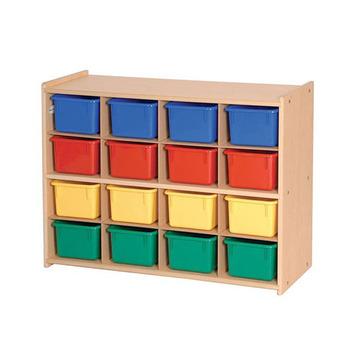 Wholesale Preschool Wooden Furniture Toy Kids Storage Cabinets