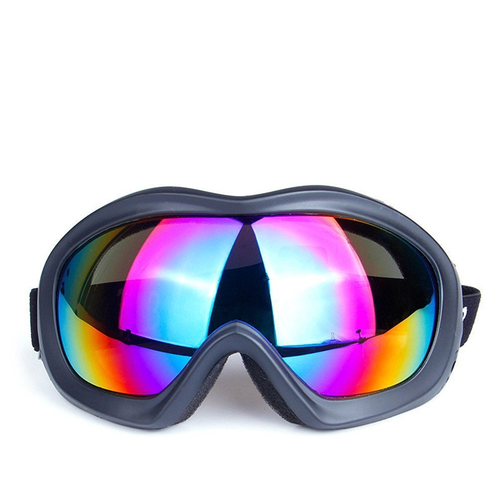 b5a69b625a92 Generic Snow Googles Windproof Motorcycle Snowmobile Ski Goggles Blocking  OUT UVA UVB UVC
