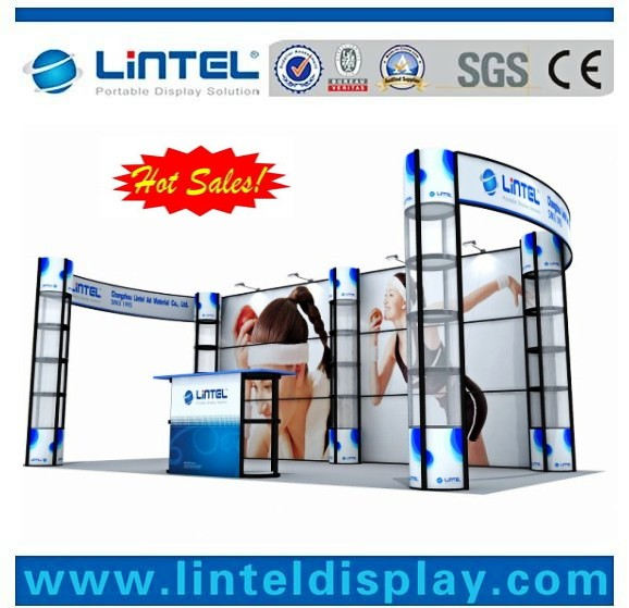 10 x 20 feet light fast assembling booth