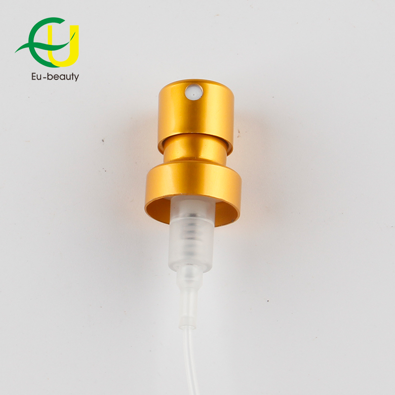 FEA13mm  crimp on  perfume  pump matte gold pump