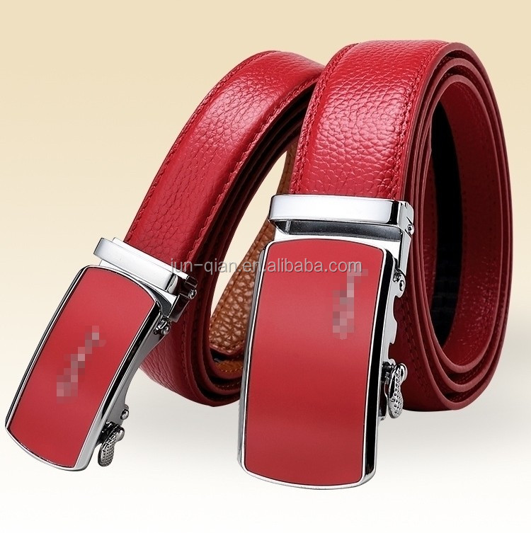 men's elastic leather belts for jeans
