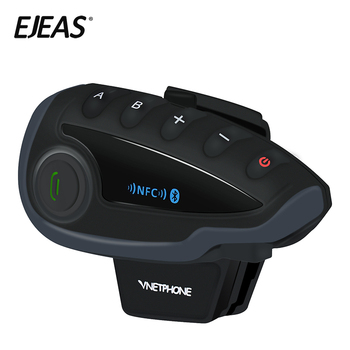 2019 New brand Ejeas Voice prompt advanced noise cancellation motorcycle bluetooth helmet headset