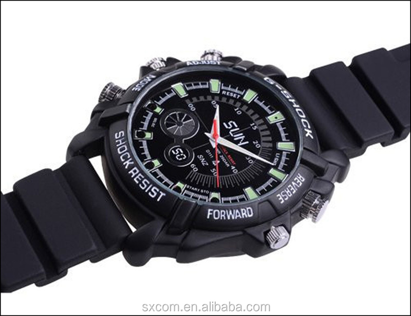 2015 Hot Sale High Quality Spy Watch Camera With Night Vision ...