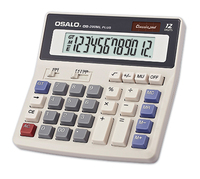 Hot Selling 12 Digit General Purpose Brand 12Year Desktop Solar Calculator For Office Worker