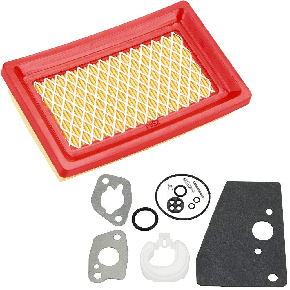 Harbot 14 083 01-S Air Filter with 14 757 03-S Carburetor Repair Rebuild Kit for Kohler XT149 XT173 XT650 XT675 XT775 XT800 XTX775 HD775 Engine