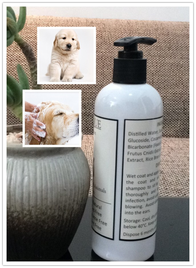 pet cleaning natural dog shampoo private label