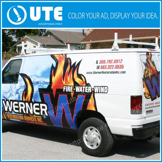 3m Vehicle Van Bus Taxi Wrap Advertising Car Graphics Printing ...