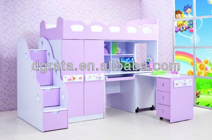 magia rosa nias cama es el diseo para nios en e mdf board y