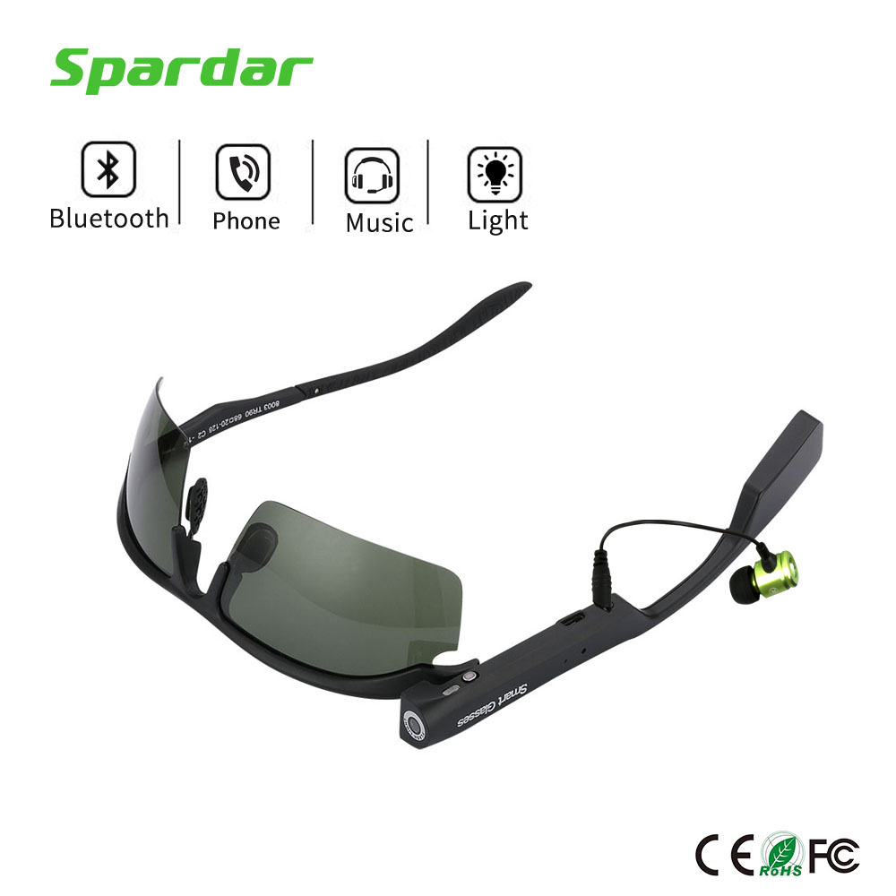 Smart Stereo <strong>Bluetooth</strong> 4.0 Headset Sunglasses Glasses Support Hand-free Calling Music