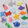 Toddler fish game Eco-friendly Felt educational toy