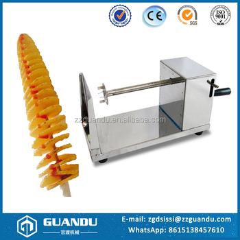 0491757b60e Electric potato spiral cutting machine   potato cutter machine spiral    spring potato cutter