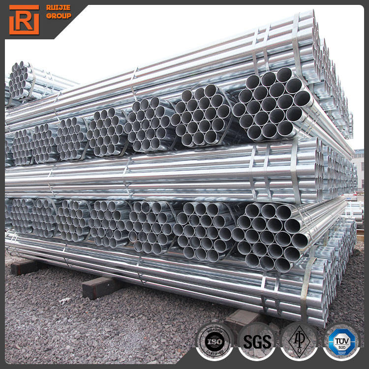 BS1387 EN10255 ASTM A53 B Hot dipped Galvanized steel pipe, GI pipes