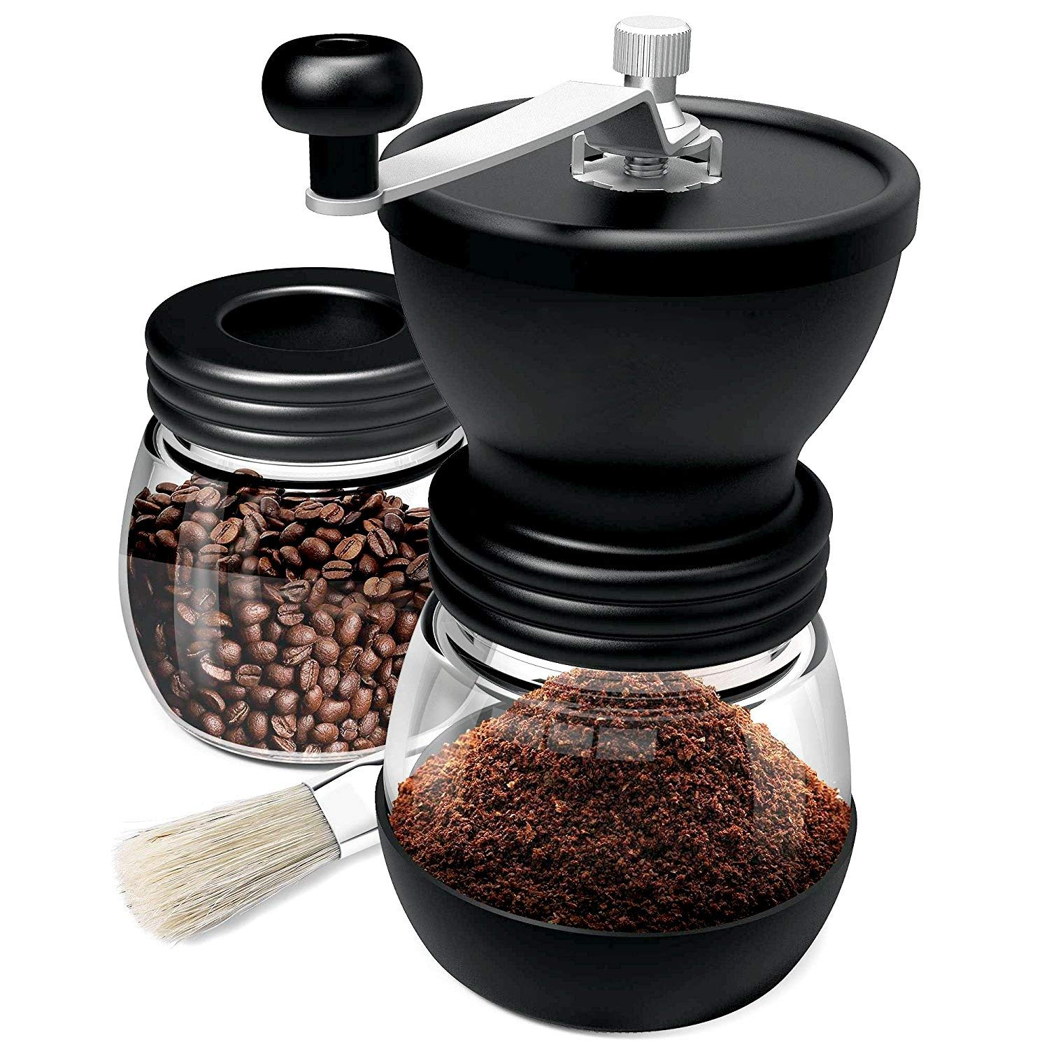 Manual Coffee Mill Grinder with Ceramic Burrs,Ceramic Burr Manual Coffee Grinder,Manual Coffee Bean Grinder,Manual Coffee Grinder Ceramic Burr,Coffee Bean Grinder Burr