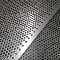 2mm hole size 304 316 stainless steel punching filter plate (customized)