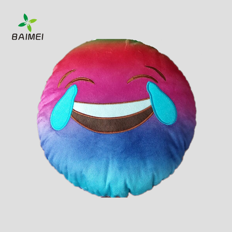 2016 New Product Soft Emoji Pillow Plush Emoticon Toy Cute Smiley Face Soft Toys