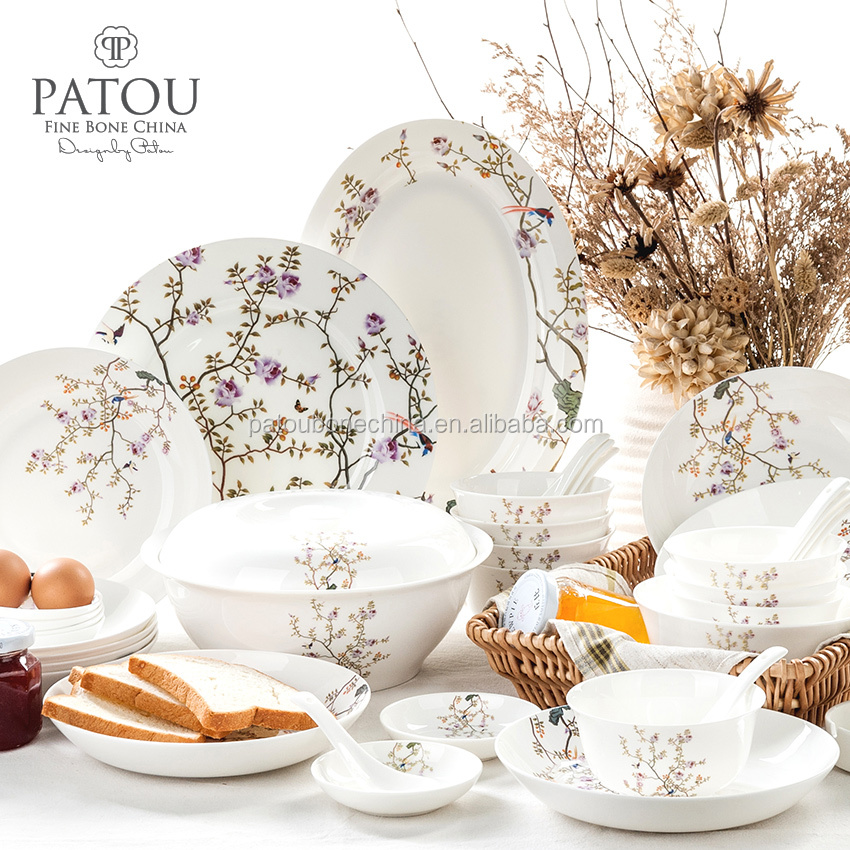 Decal Patterned Bone China Dinner Set Dinnerware Sets With High Quality - Buy Bone China Dinner SetBone China DinnerwareBone China Dinnerware Sets Product ...  sc 1 st  Alibaba & Decal Patterned Bone China Dinner Set Dinnerware Sets With High ...