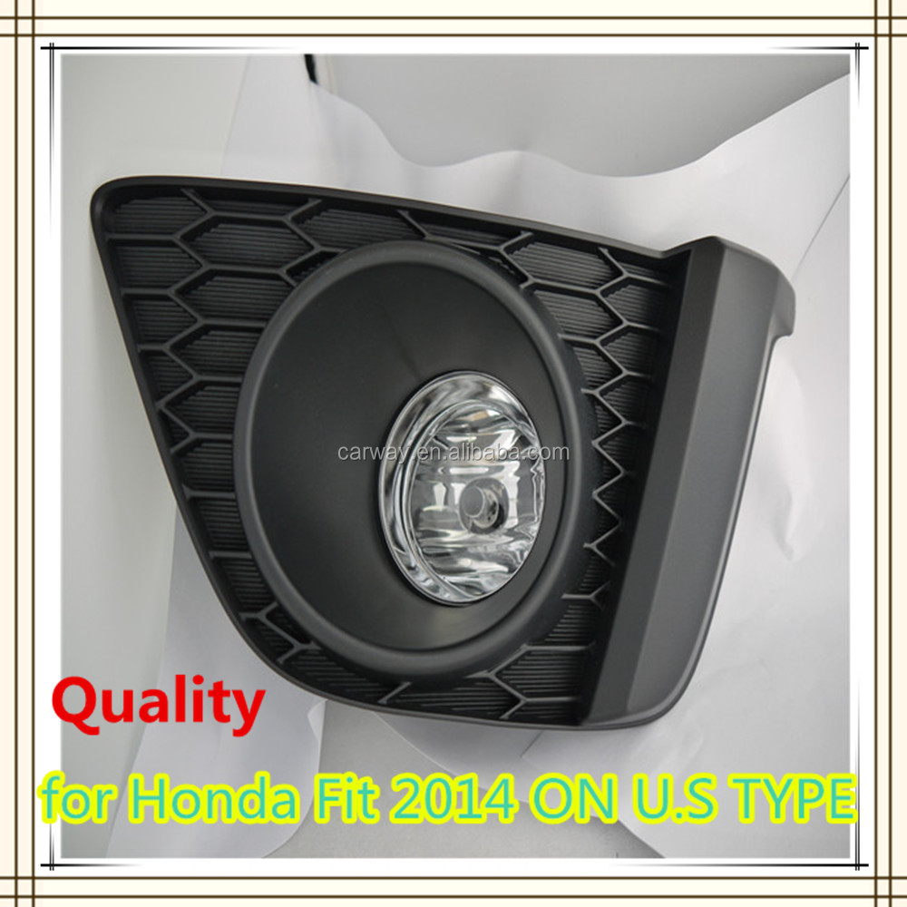The best price car spare parts for Honda Fit jazz 2014 ON fog lamp accessories