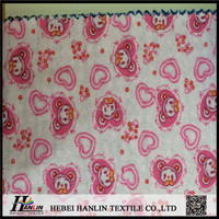 Plain printing 100% Cotton/Baby/Woven/Soft feel/Flannel Fabrics,High Quality Muslin Fabric For Baby Blanket For Custom Printed