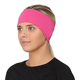 Women Outdoor Winter Ponytail Head Band Polar Fleece Cycling Ski Ear Muff