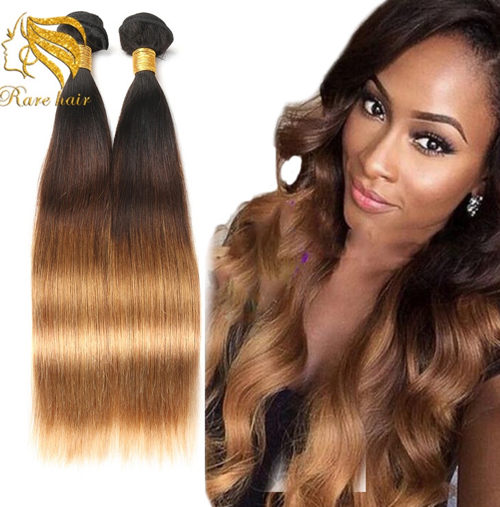 Wholesale Hair Extensions Los Angelesombre Color Hair Weave