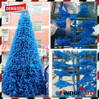 2017 High Quality New Design Custom Blue Christmas Tree