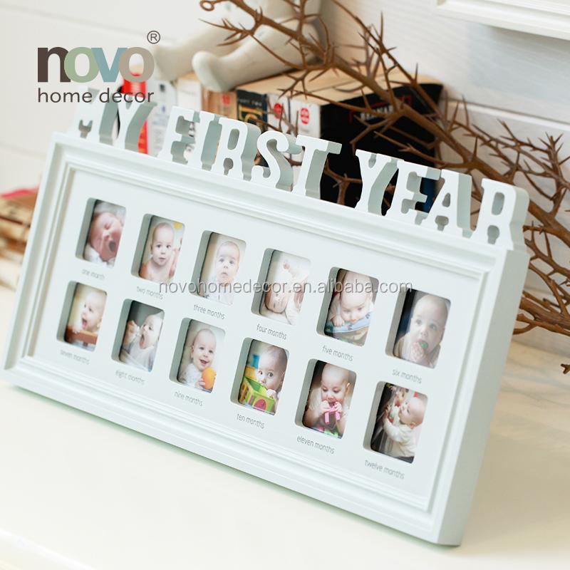 Neues design baby ersten jahr 12 monate bilderrahmen-Frame-Produkt ...