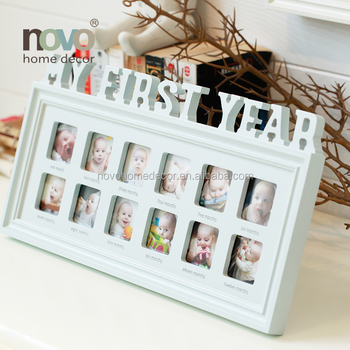 New Design Baby First Year 12 Month Photo Frame - Buy 12 Photo Frame ...